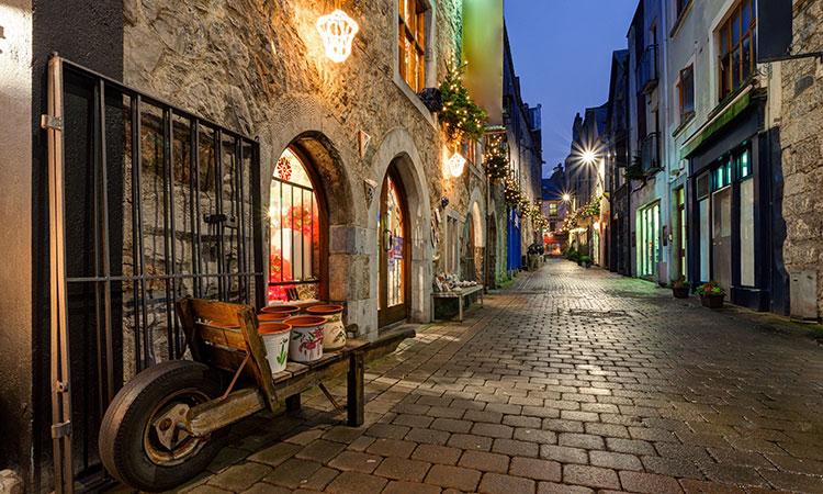 Conhecendo a cidade de Galway