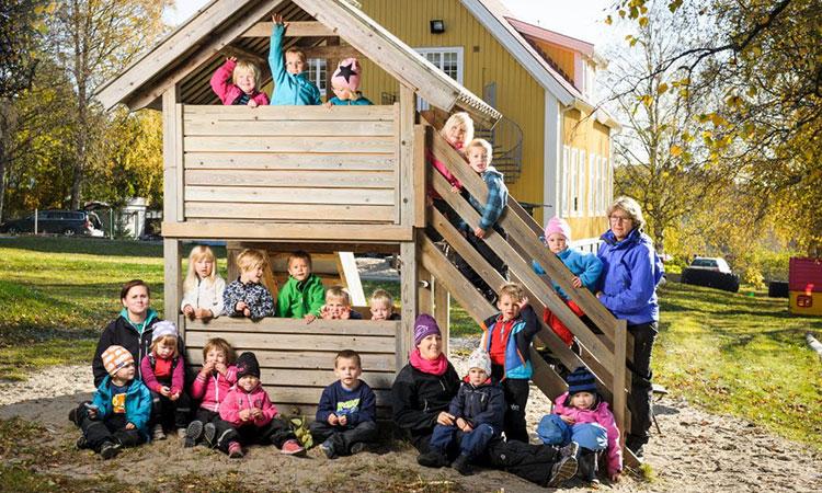 Creche na Suécia