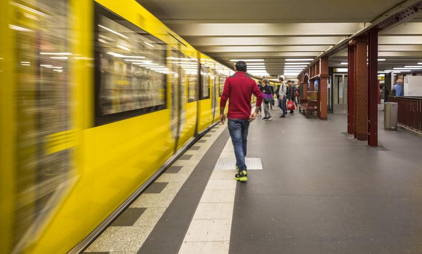 custo de vida na Alemanha transporte