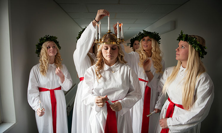 Dia de Santa Lucia na Suécia