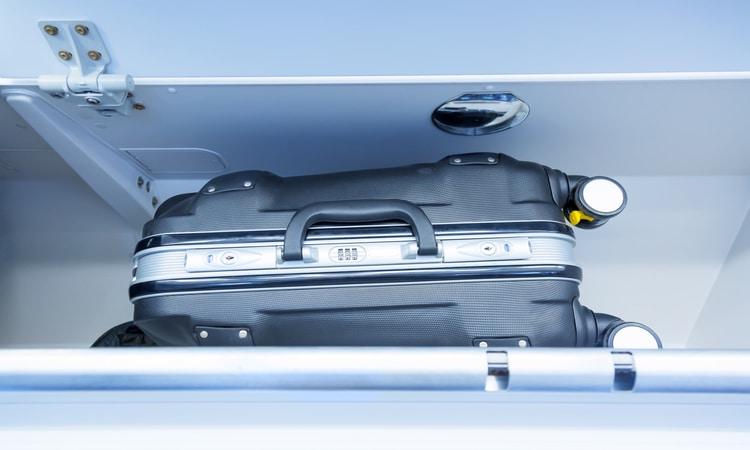 Dimensões da bagagem de mão
