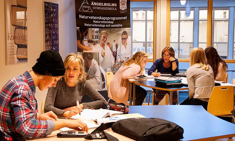 Ensino médio na Suécia