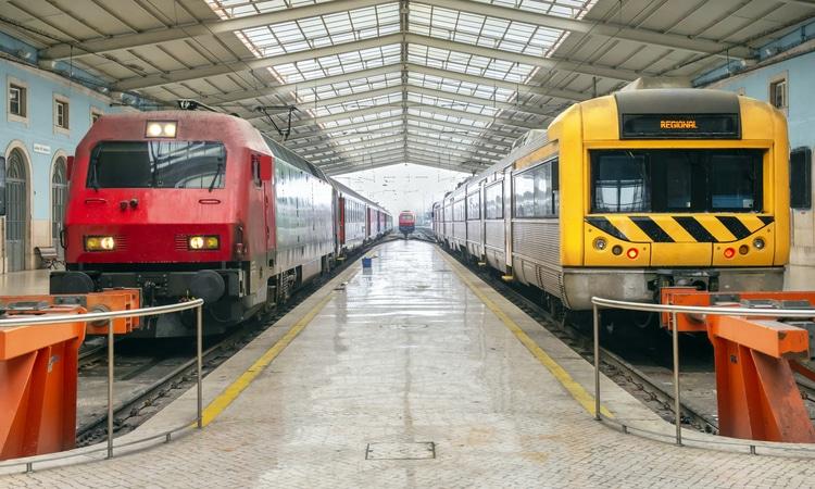 Estação de comboios de Santa Apolonia