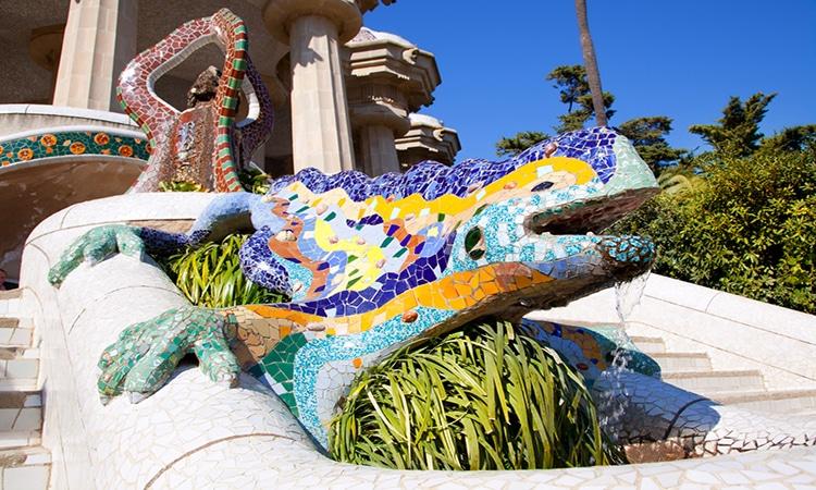 Gaudi em Barcelona