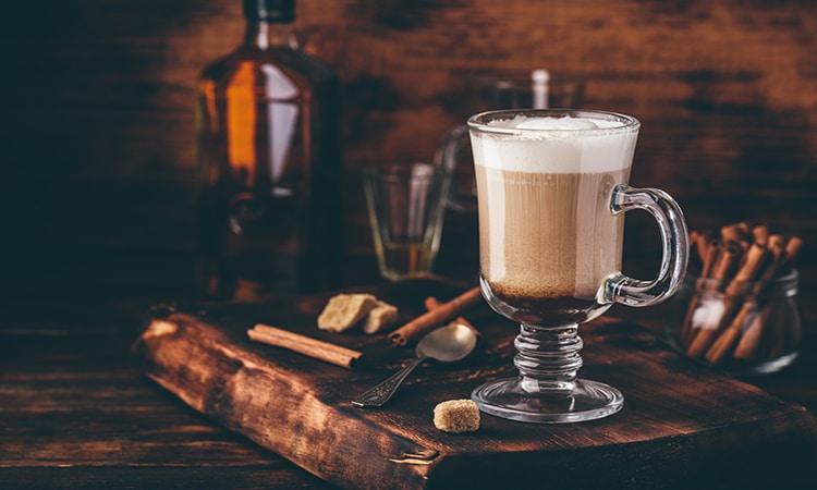 Irish coffee - comidas típicas da Irlanda