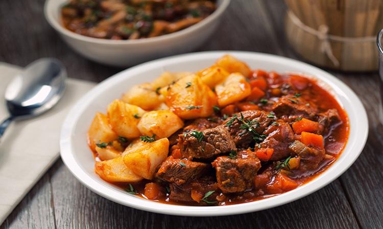 Irish stew ou ensopado Irlandês
