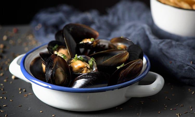 mexilhoes comidas tipicas da belgica