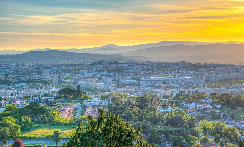 morar em Braga norte de Portugal