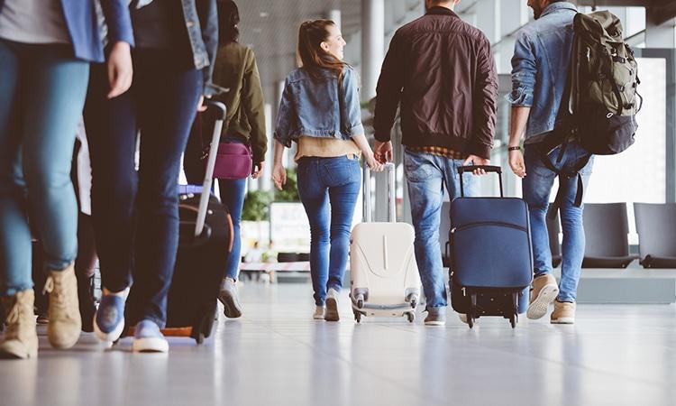 como morar fora do Brasil aeroporto