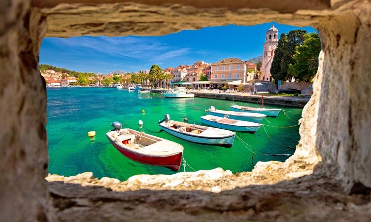 morar na Croácia barcos