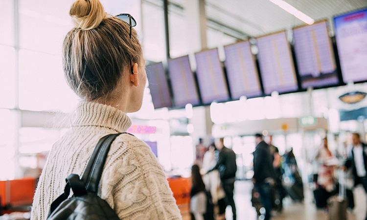 Passagem para Holanda aeroporto