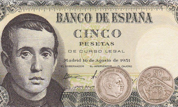 Peseta, antiga moeda da Espanha