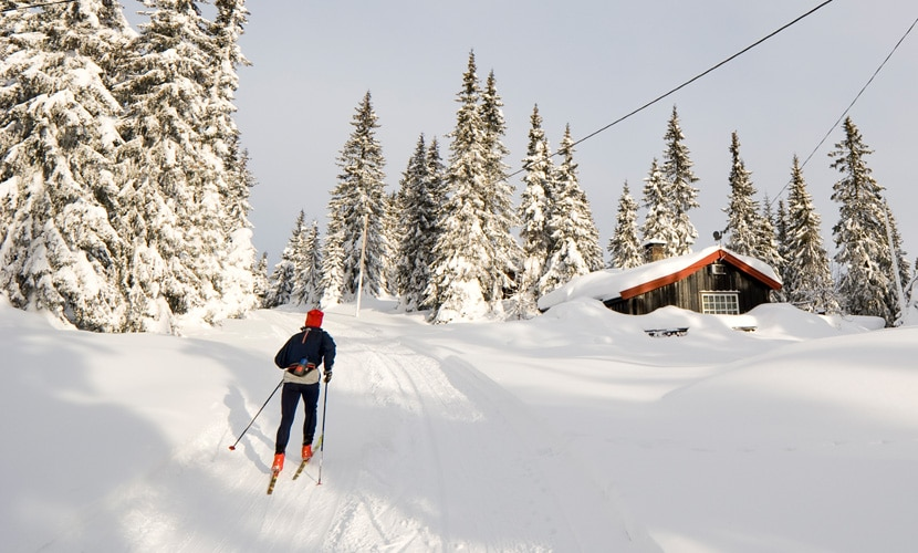 seguro viagem Noruega esqui