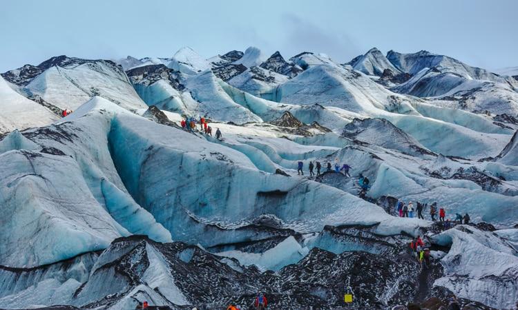 seguro viagem para neve geleira