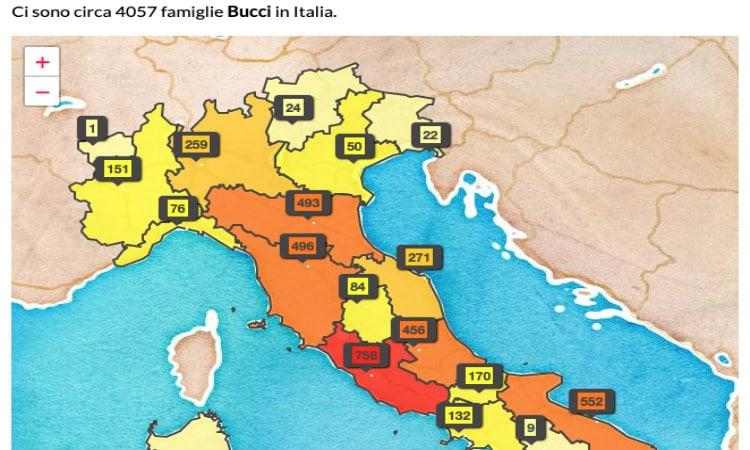 sobrenome italiano geografia