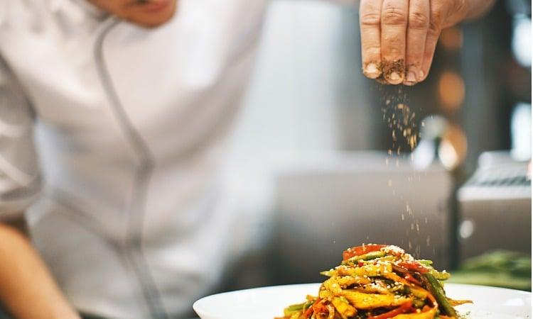 trabalhar de cozinheiro na Franca