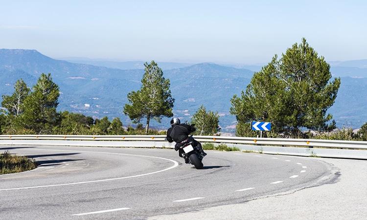 Viagem de moto na Europa