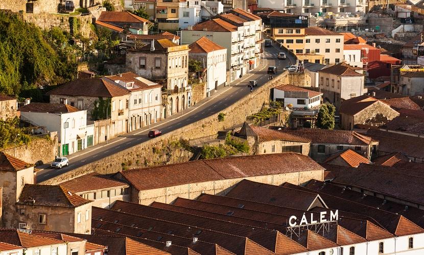 Vila Nova de Gaia perto do Porto