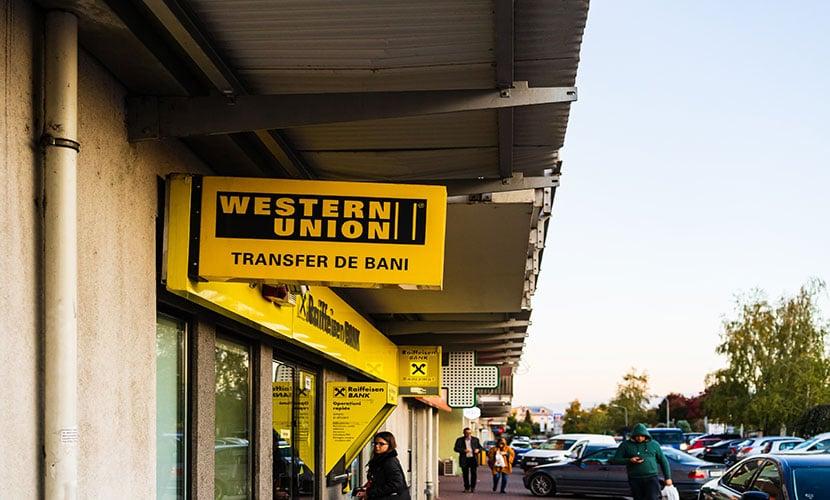 Western Union loja