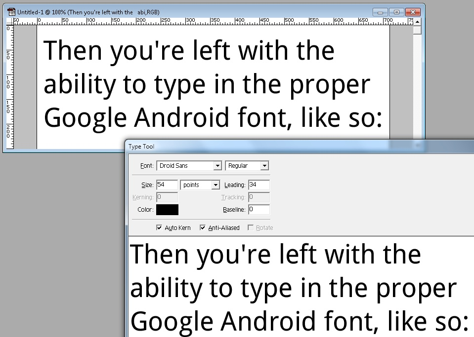 Download HOW TO… Install the Android fonts on your computer | EURODROID