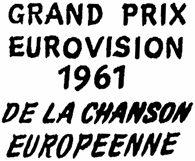 Logo ESC 1961