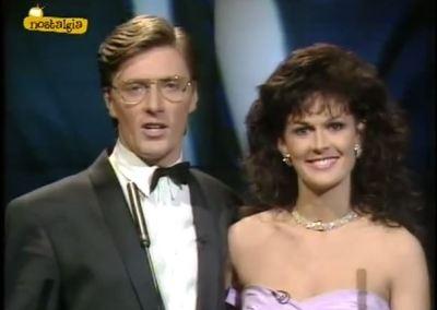 Pat Kenny e Michelle Rocca