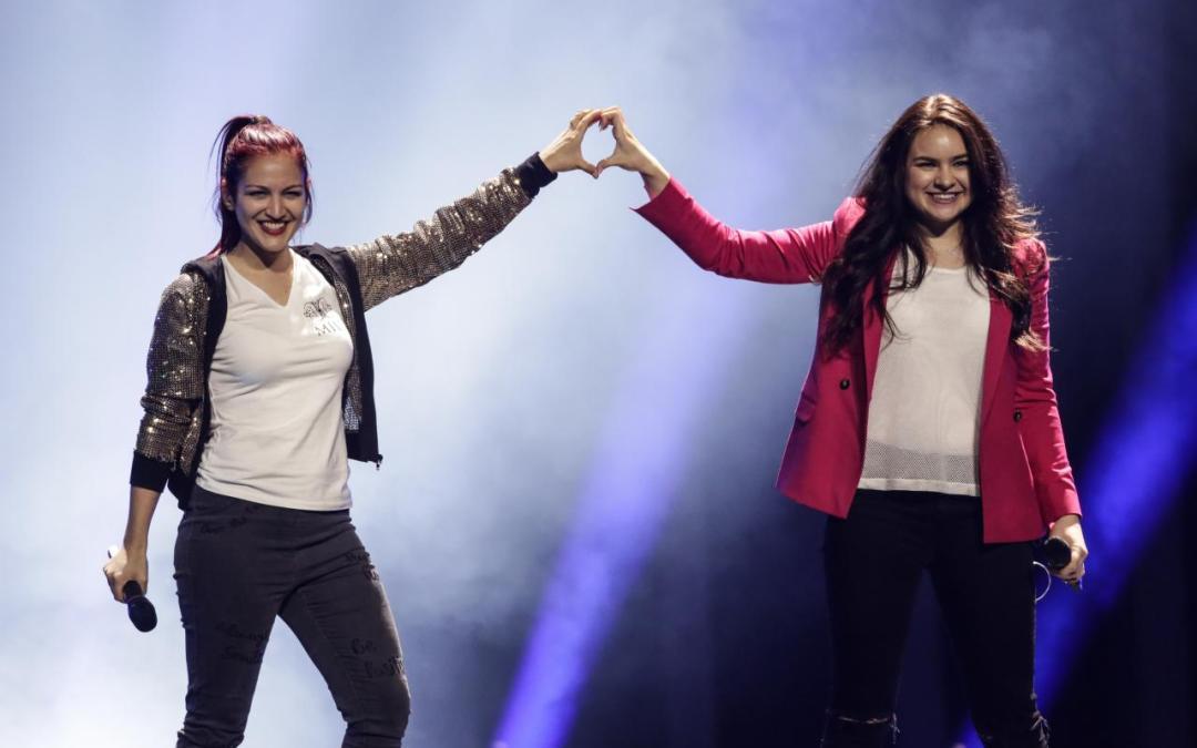 Eurovision 2018 – Prima prova per San Marino: tutti pazzi per i robottini!