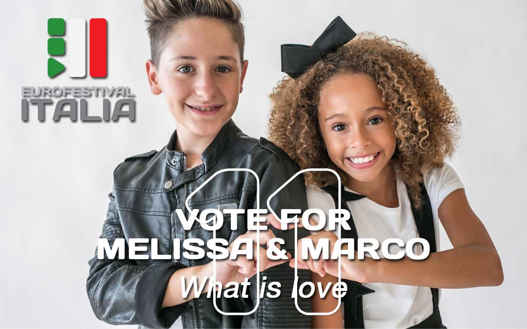 Junior Eurovision 2018 – Come votare per Melissa e Marco