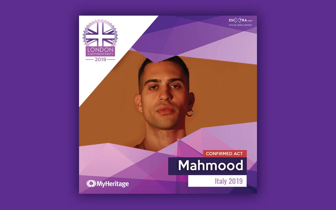 Eurovision 2019 – Mahmood al London Eurovision Party