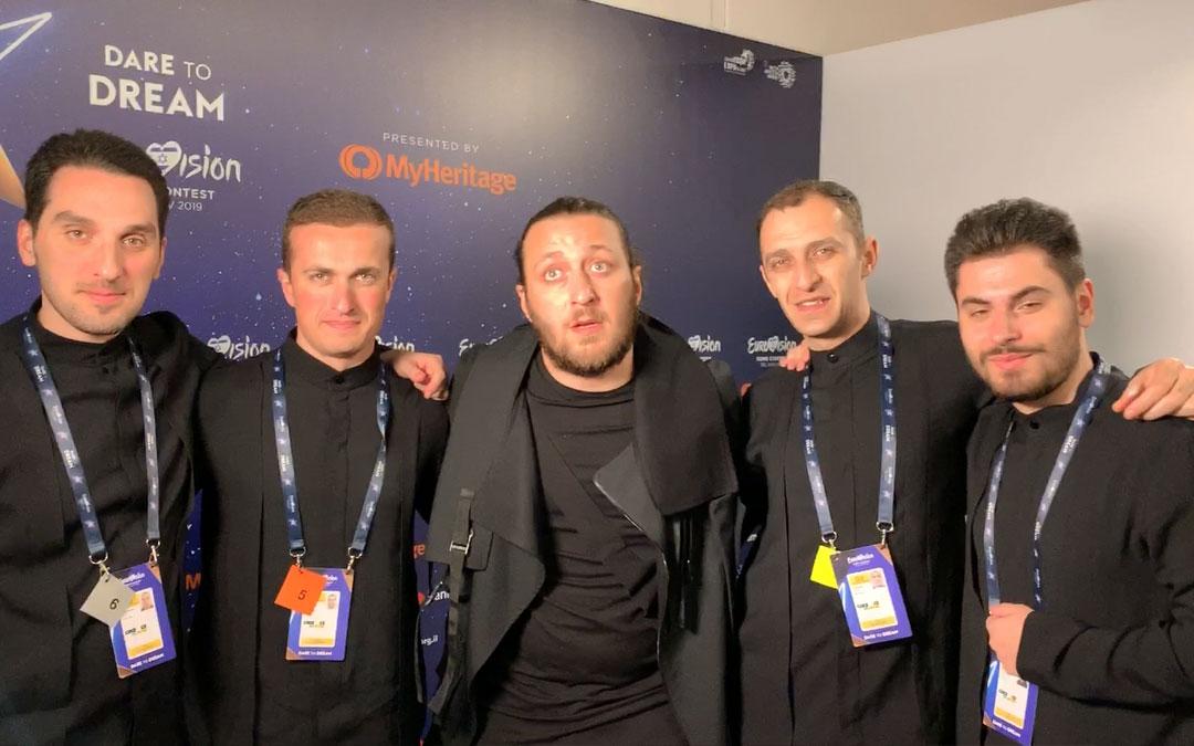 Eurovision 2019 –  Saluto di Oto Nemsadze