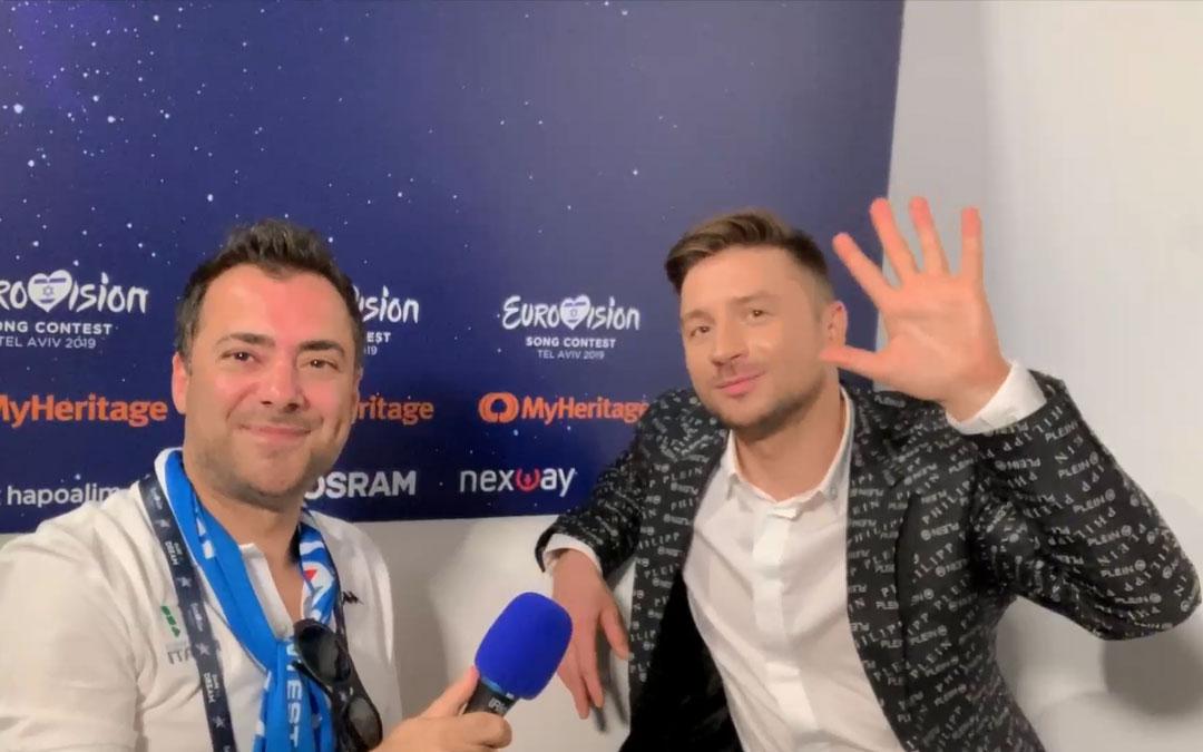 """Sergey Lazarev: """"Gridare è liberatorio, non teniamoci tutto dentro!"""""""
