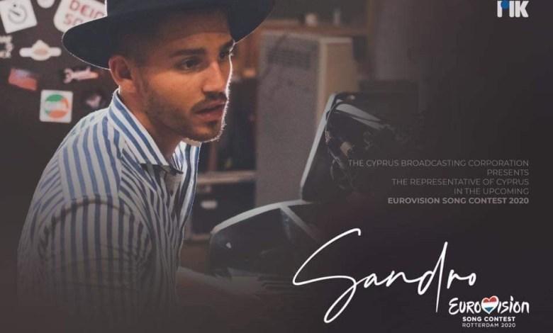 Eurovision 2020 – Per Cipro scende in campo SANDRO
