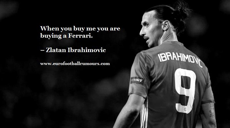 Football Quotes 6 - Zlatan Ibrahimovic