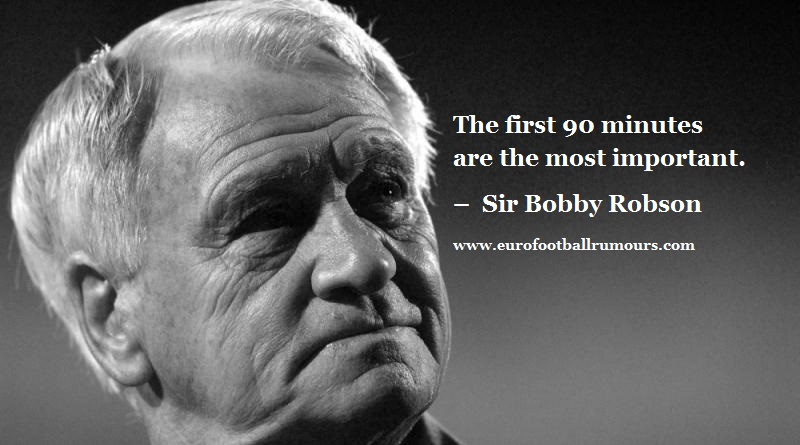 Football Quotes 26 Sir Bobby Robson