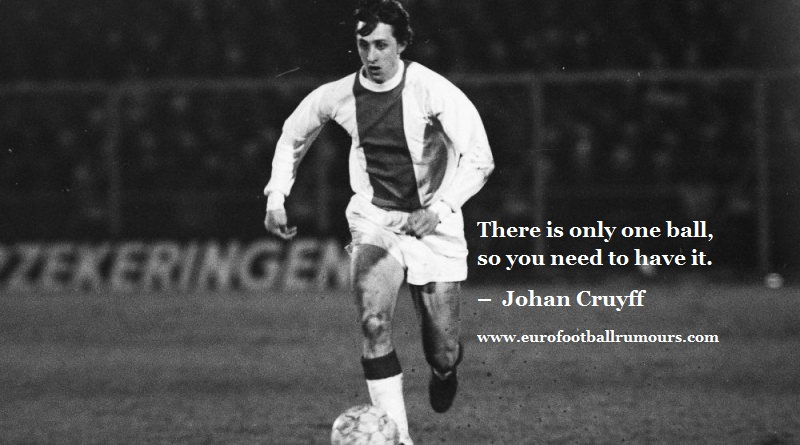Football Quotes 40 Johan Cruyff