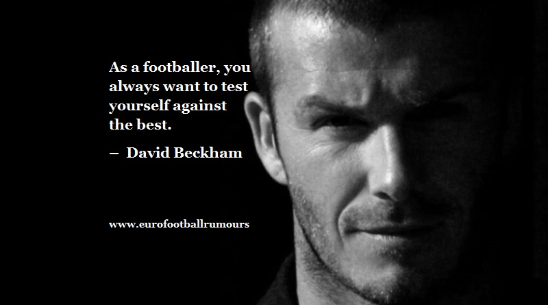 Football Quotes 41 David Beckham