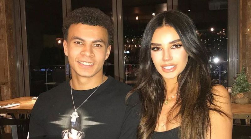 Dele Alli and Ruby Mae