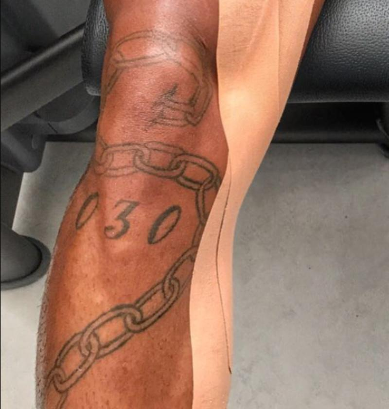 Kevin-Prince Boateng's Tattoo