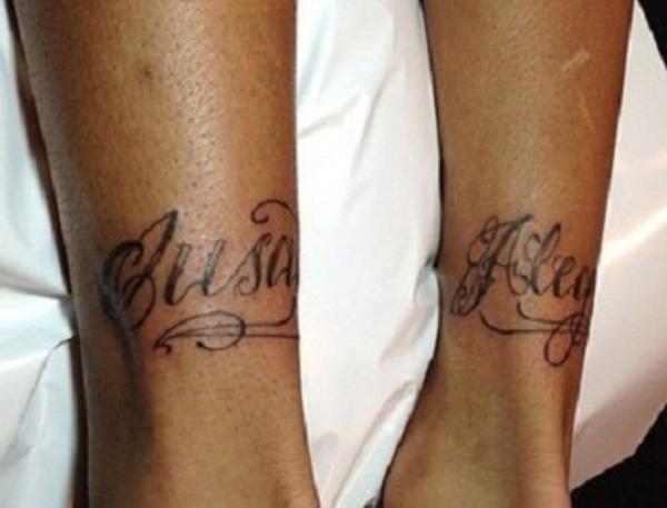 Neymar's Tattoo