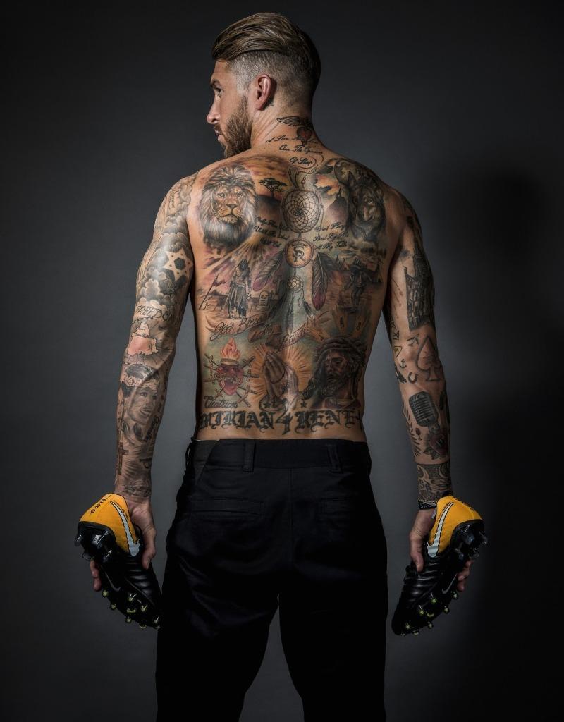 Sergio Ramos' Tattoo