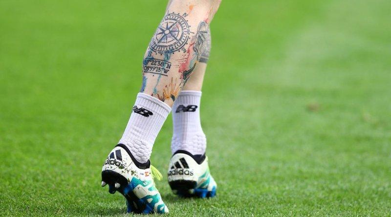 Alberto Moreno's Tattoo