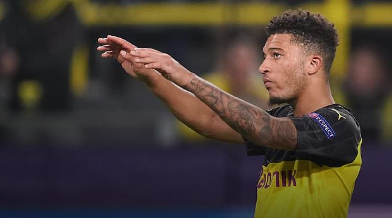Jadon Sancho's Tattoo