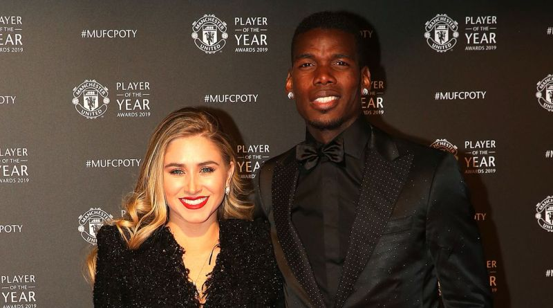 Paul Pogba and Maria Salaues