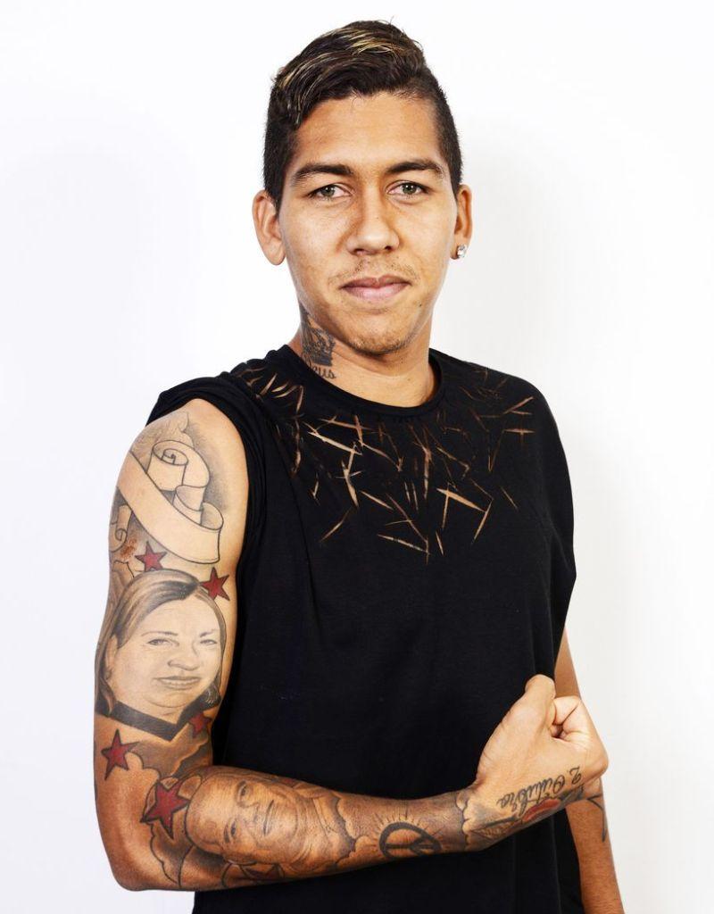 Roberto Firmino's Tattoo