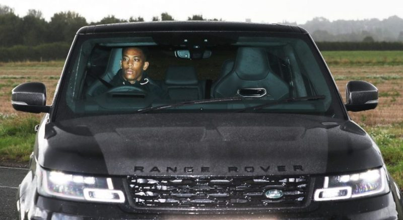 Anthony Martial Car