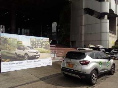 Renault Captur a GNV en la feria de movilidad sostenible EPM