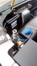 Valvula de llenado para GNV