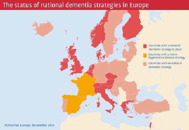 EU national dementia strategies