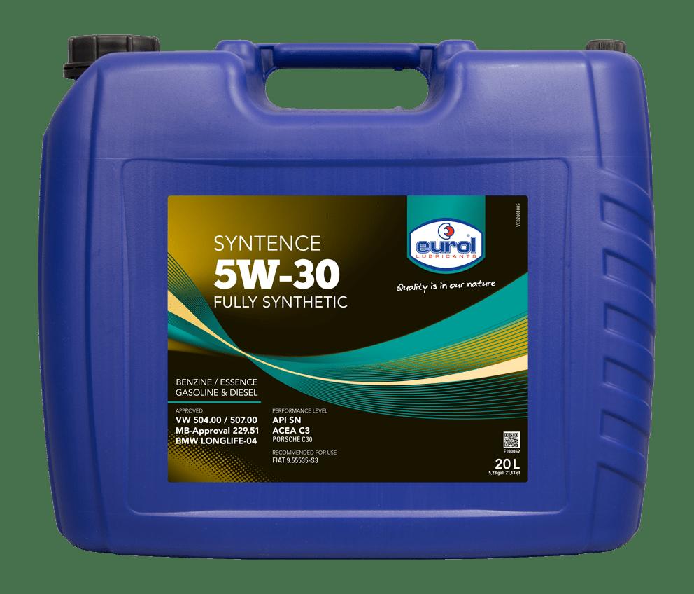 Eurol Syntence 5W-30 20L Арт. E100062-20L