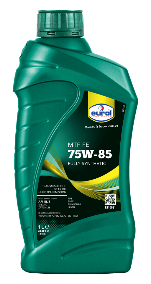 Eurol MTF 75W-85 FE GL5 1L Арт. E110081-1L
